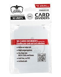 Card Dividers - Standard Size - Transparant