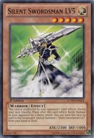 Silent Swordsman LV5 - 1st. Edition - LCYW-EN034