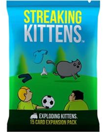 Streaking Kittens - Second Expansion of Exploding Kittens - English Edition