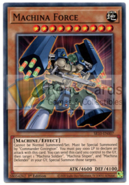 Machina Force - 1st. Edition - SR10-EN007