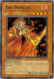 Fire Princess - Limited Edition - GLD1-EN005
