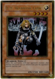D.D. Warrior Lady - Limited Edition - GLD1-EN015