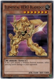 Elemental HERO Bladedge - 1st Edition - SDHS-EN009