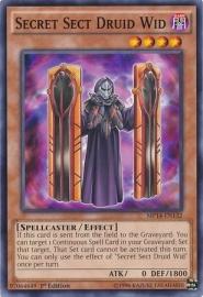 Secret Sect Druid Wid - 1st Edition - MP14-EN132