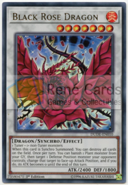Black Rose Dragon - 1st. Edition - DUDE-EN010