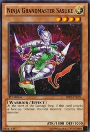 Ninja Grandmaster Sasuke - 1st Edition - BP02-EN029