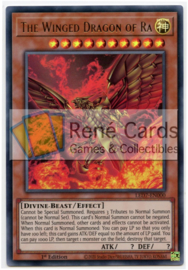 The Winged Dragon of Ra - 1st. Edition - LED7-EN000