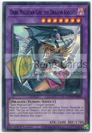 Dark Magician Girl the Dragon Knight (A.I.) - 1st. Edition - DLCS-EN006 - Blue
