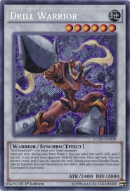 Drill Warrior - 1st Edition - LC5D-EN038