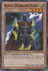 Beast-Warrior Puma - 1st. Edition - HA07-EN032