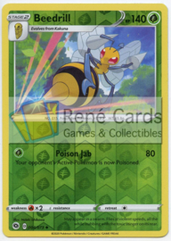 Beedrill - Champion's Path - 004/073 - Reverse