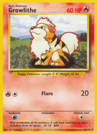 Growlithe - BaSet 28/102 - Unlimited