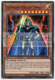 Legendary Knight Timaeus - 1st. Edition - DLCS-EN001 - Blue