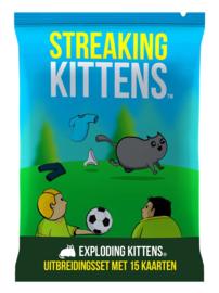 Streaking Kittens - Second Expansion of Exploding Kittens - Nederlandse Editie