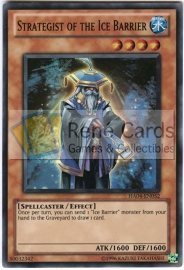 Strategist of the Ice Barrier - Unlimited - HA04-EN052