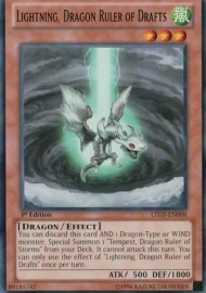 Lightning, Dragon Ruler of Drafts - Unlimited - LTGY-EN098