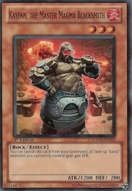 Kayenn, the Master Magma Blacksmith - 1st Edition - HA05-EN012