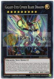 Galaxy-Eyes Cipher Blade Dragon - Limited Edition - EXFO-ENSE4