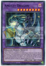 Amulet Dragon - 1st. Edition - DLCS-EN005 - Blue