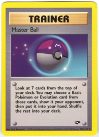 Master Ball - Unlimited- GymChal - 116/132
