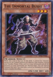 The Immortal Bushi - 1st Edition - BP03-EN036