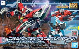PFF-X7 Core Gundam (Real Type Color) & Marsfour Unit HGBDR 1/144