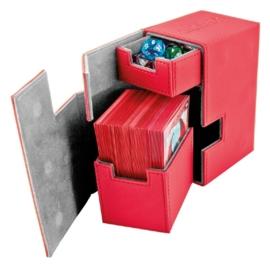 Flip´n´Tray Deck Case 80+ - Standard Size - XenoSkin - Red