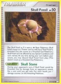 Skull Fossil HP 50 - MysTreas - 117/123