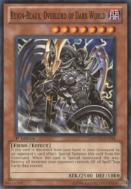 Reign-Beaux, Overlord of Dark World - 1st Edition - SDGU-EN014