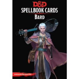 Dungeons & Dragons - Spellbook Cards - Bard