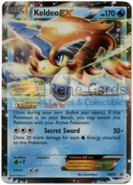 Keldeo EX - BW61 - Promo - EX Power Tins