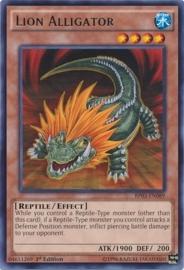 Lion Alligator - 1st Edition - BP03-EN089