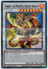 Vahram, the Magistus Divinity Dragon - GEIM-EN006 - 1st. Edition