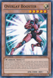 Overlay Booster - 1st. Edition - LVAL-EN006