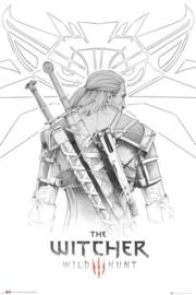 The Witcher - Geralt Sketch - (131)