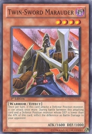 Twin-Sword Marauder - 1st Edition - 5DS3-EN016