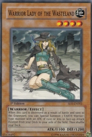 Warrior Lady of the Wasteland - 1st Edition - SD5-EN002