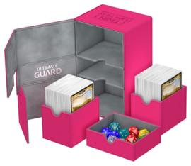 Twin Flip´n´Tray Deck Case 160+ Standard Size XenoSkin Pink
