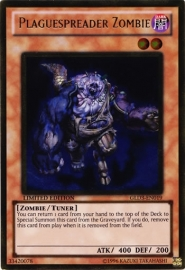Plaguespreader Zombie - Limited Edition - GLD3-EN019