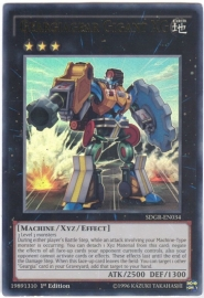 Geargiagear Gigant XG - 1st Edition - SDGR-EN034