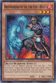 Brotherhood of the Fire Fist - Wolf - 1st Edition - MP14-EN012