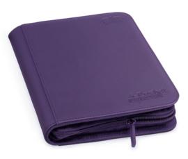 Ultimate Guard 4-Pocket ZipFolio XenoSkin Purple