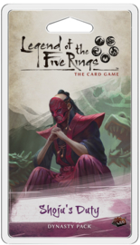 Legend of the Five Rings - The Card Game - Shoju's Duty
