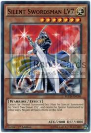 Silent Swordsman LV7 - 1st Edition - YGLD-ENC06