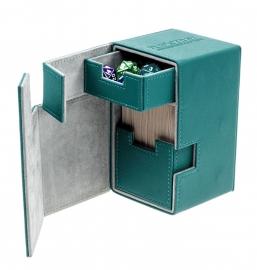 Flip´n´Tray Deck Case 100+ - Standard Size - XenoSkin - Petrol Blue