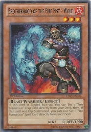 Brotherhood of the Fire Fist - Wolf - Unlimited - LTGY-EN026