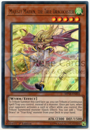 Majesty Maiden, the True Dracocaster - 1st. Edition - MP18-EN004