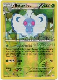 Butterfree - Gen - 5/83 - Reverse