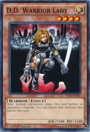 D.D. Warrior Lady - 1st Edition - YS14-ENA04
