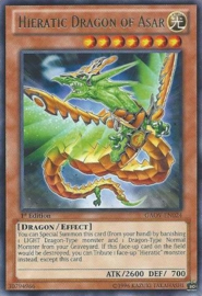 Hieratic Dragon of Asar - Unlimited  - GAOV-EN024